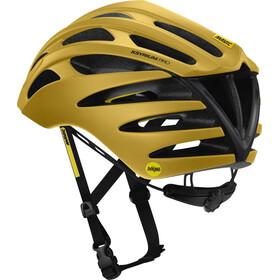 Mavic Ksyrium Pro MIPS Helmet Men Sulphur/Jet Black